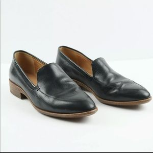Madewell Frances Loafer Leather Pointed Shoes